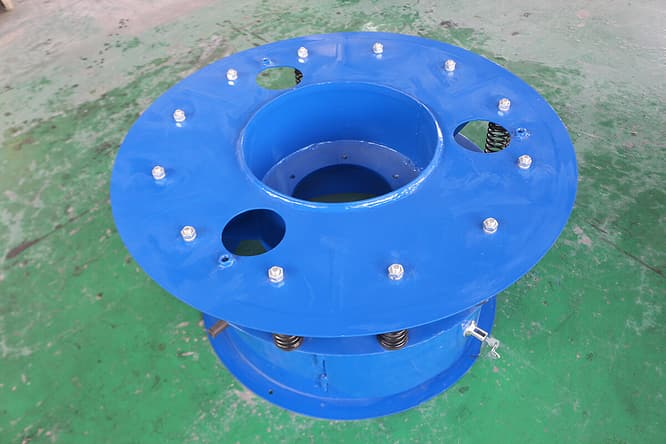 rotary vibrating screen base