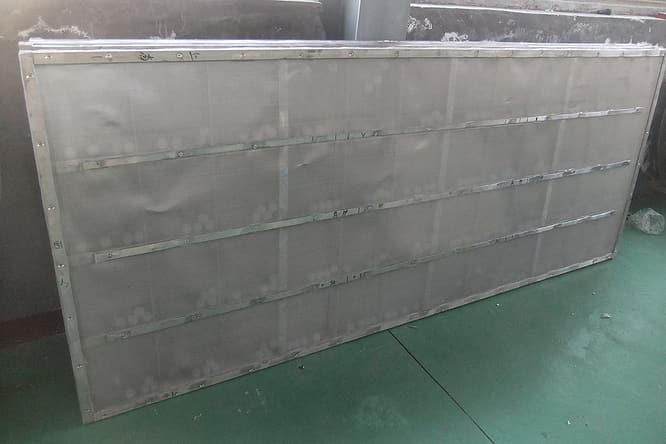 rectangular vibrating screen mesh one
