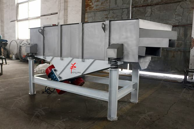 rectangular vibrating screen picture one