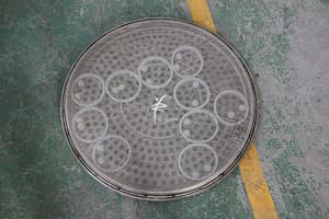 rotary vibrating screen coarse mesh