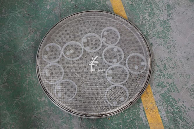 rotary vibrating screen coarse mesh