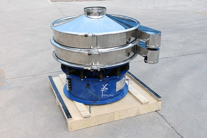 rotary vibrating screen picture one
