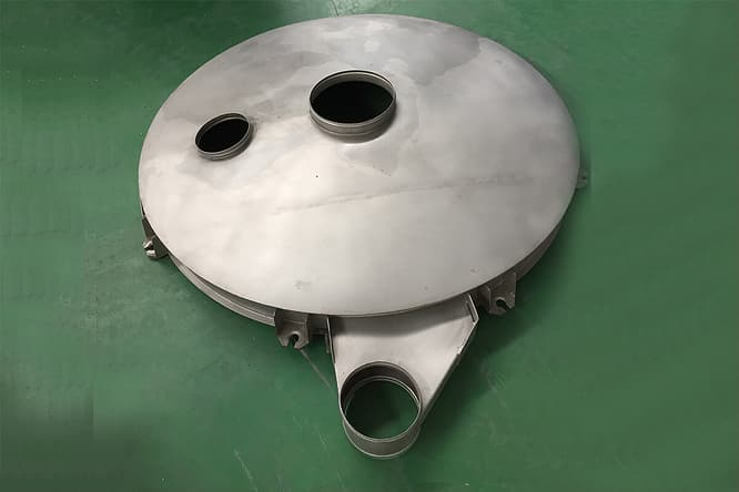 tumbler screen round circular dust conver