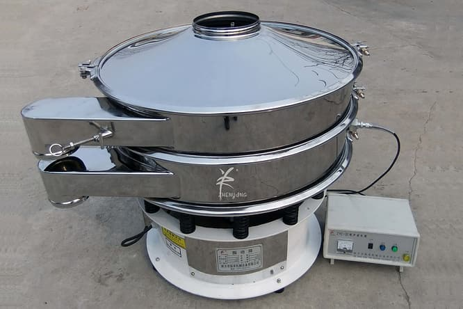 ultrasonic powder sieving machine picture three