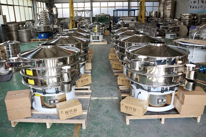 ultrasonic powder sieving packing