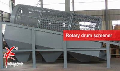 Rotary-drum-screen